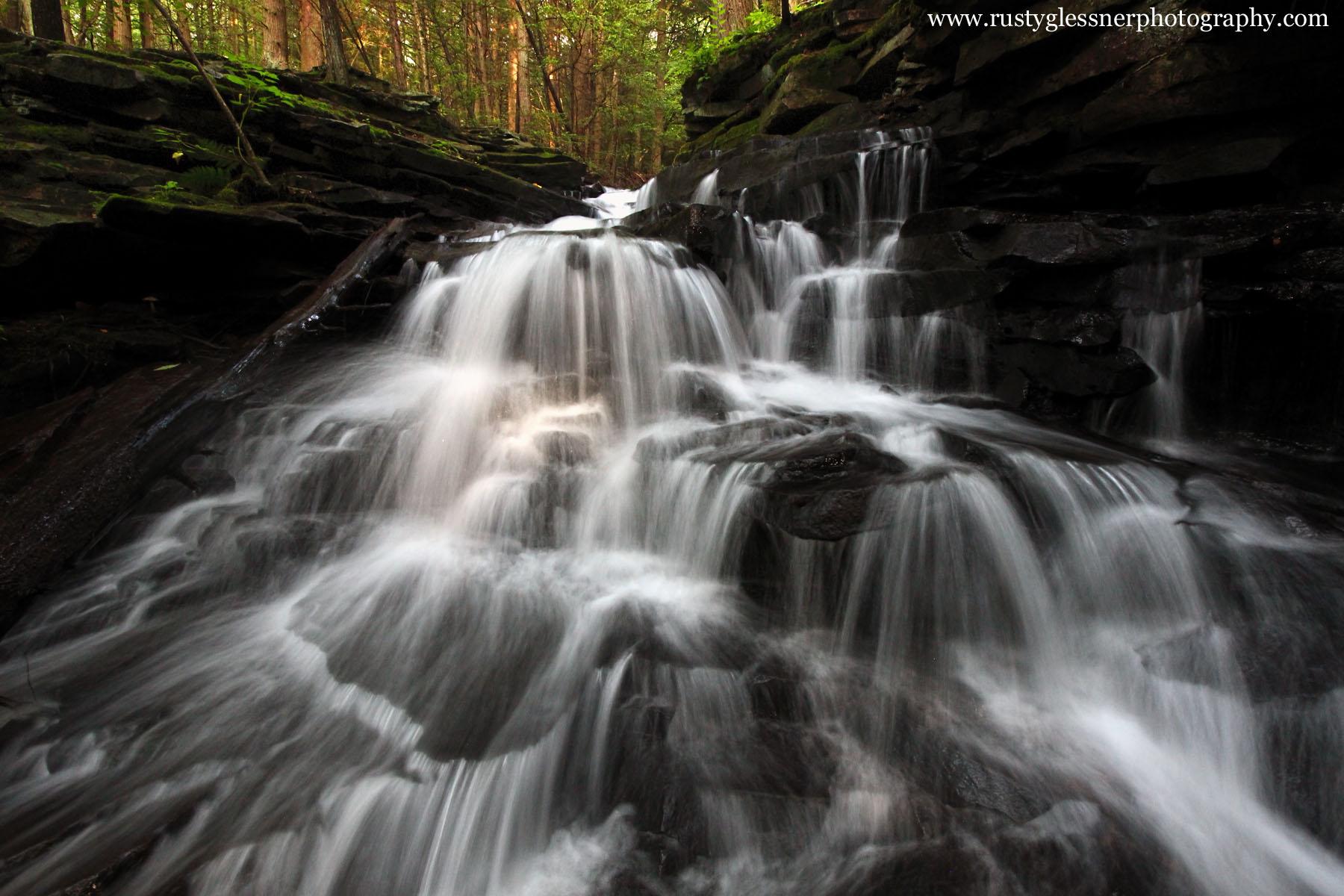 McElhatten Falls, Clinton County, Pennsylvania.
