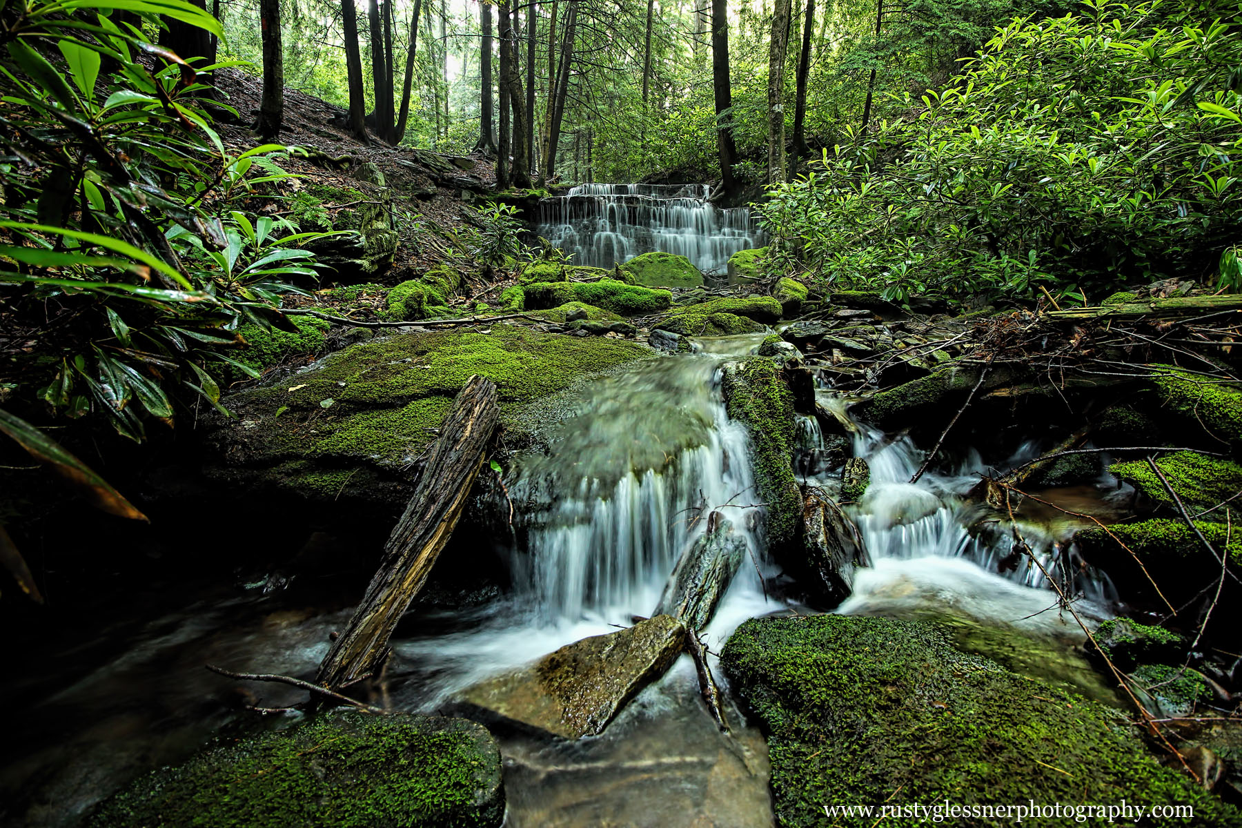 Yost Run Falls, Chuck Keiper Trail, Sproul State Forest, Centre County, Pennsylvania