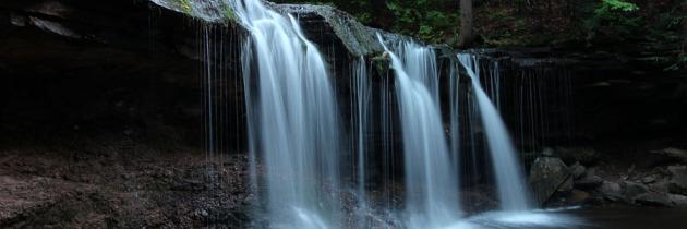 Visting Ricketts Glen State Park