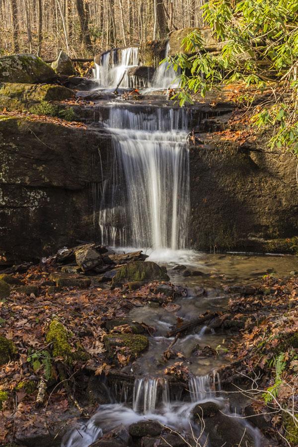 Fechter Run Falls, Ohiopyle State Park, Fayette County, PA.
