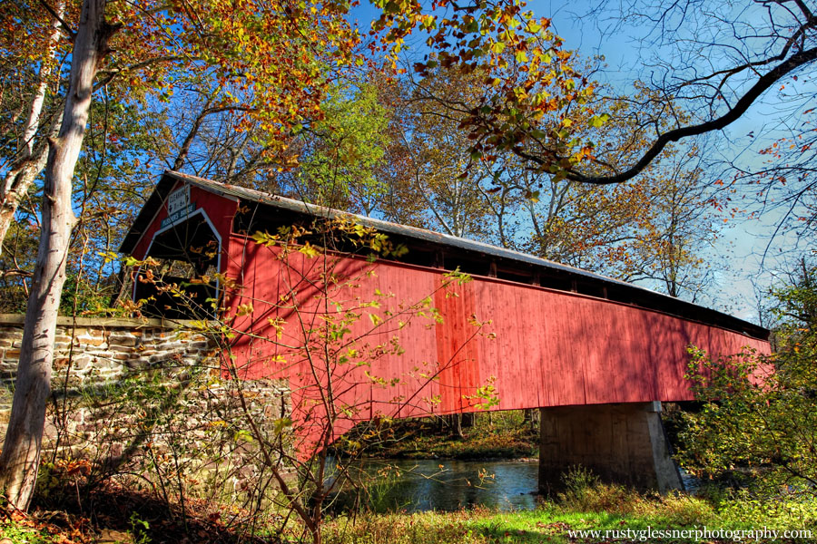 Fleisher Covered Bridge (side view), Perry County, PA.