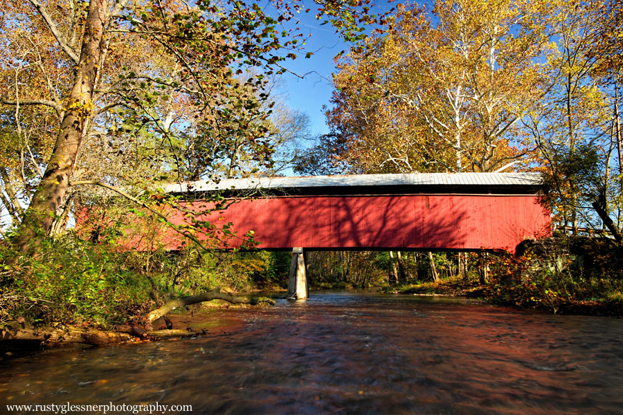 Fleisher Covered Bridge, Perry County, PA.
