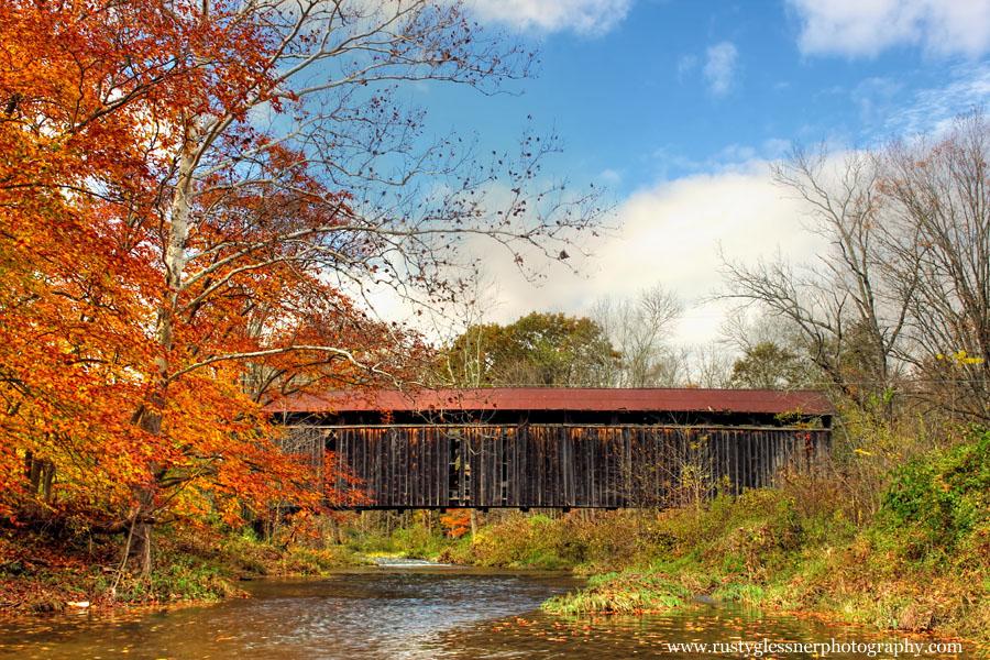 Meisers Mill Covered Bridge, Juniata County, PA.