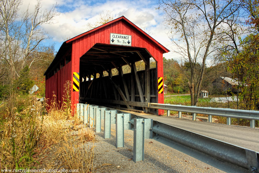 North Oriental Covered Bridge, Snyder County, PA.