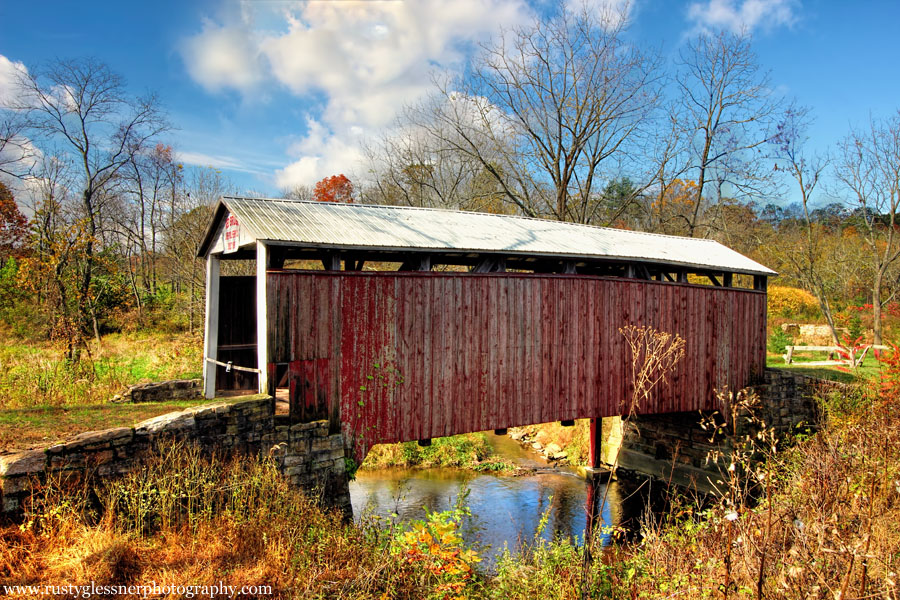 Red Covered Bridge (side view), Perry County, PA