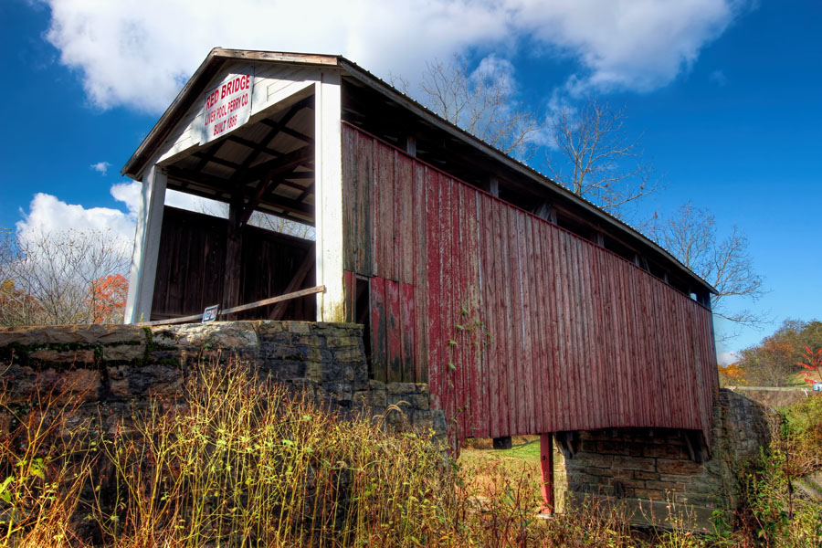 Red Covered Bridge, Perry County, PA