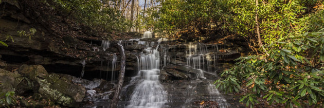 Late November Waterfalls at Ohiopyle State Park