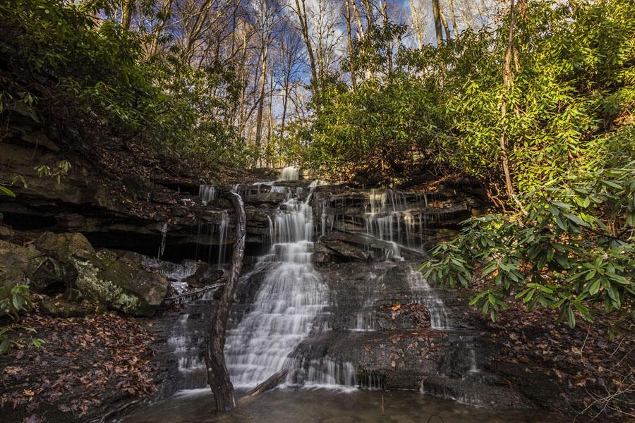 Sugar Run Falls , Ohiopyle State Park, Fayette County, PA
