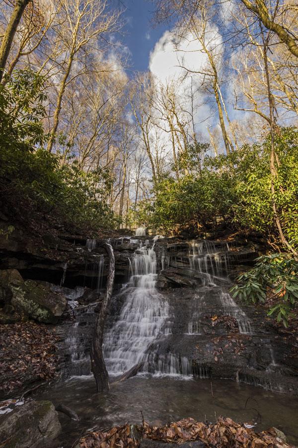 Sugar Run Falls, Ohiopyle State Park, Fayette County, PA
