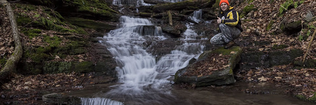Visiting the Waterfalls along Bear Run at Colton Point State Park