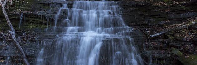 Visiting Chimney Hollow Falls