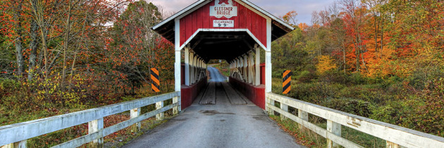 Top 10 Covered Bridge Photos of 2014
