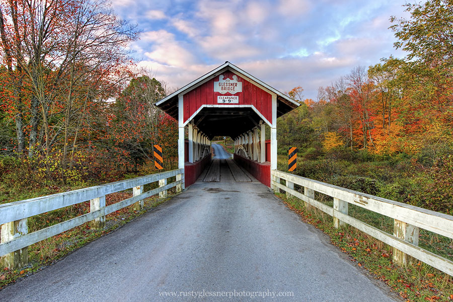 Glessner Covered Bridge, Somerset County, PA.