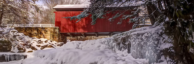 Visiting the Covered Bridges of Somerset County, PA.
