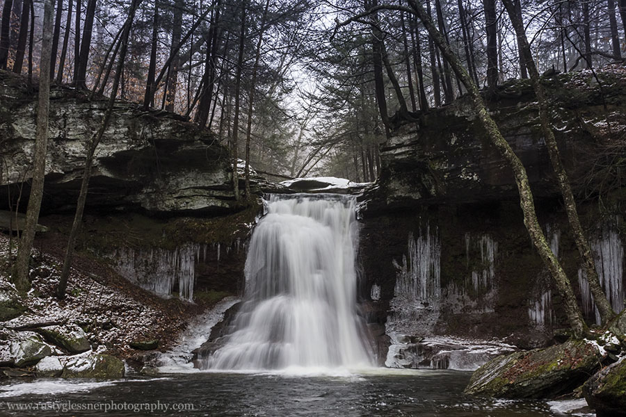 Sullivan Falls (front view), SGL 13, Sullivan County, PA