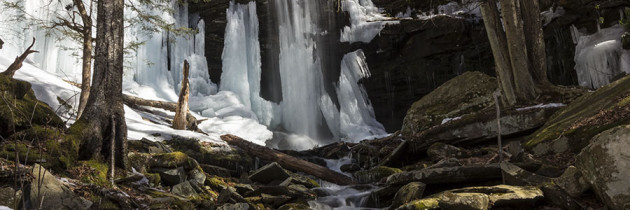 Visiting Jacoby Run Falls 3.18.2015
