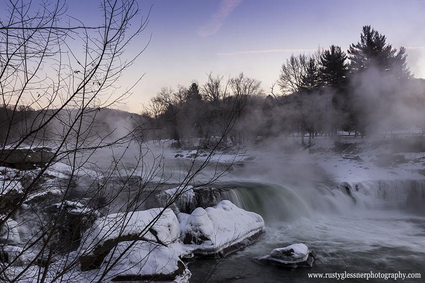 Ohiopyle Falls, Ohiopyle State Park, 2.28.2015.