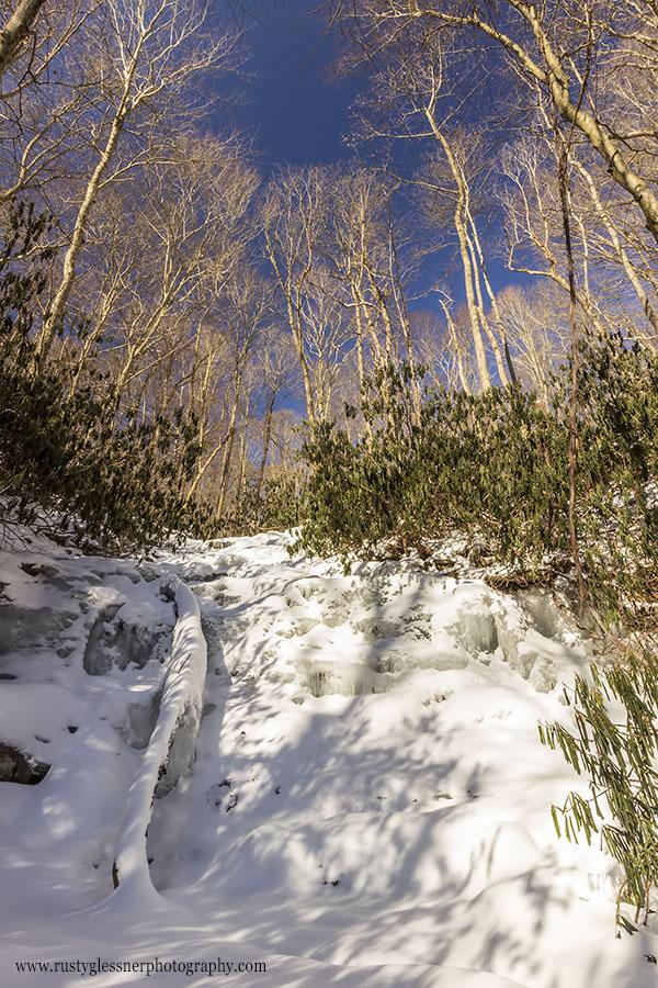 Frozen Sugar Run Falls, Ohiopyle State Park, 2.28.2015.