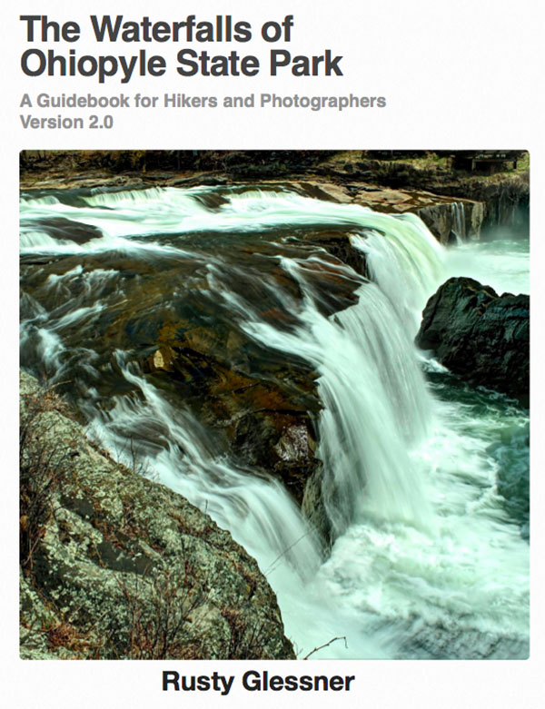 The Waterfalls of Ohiopyle State Park Version 2.0 Book Cover