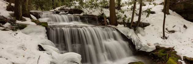 Spring Thaw at Yost Run Falls and Kyler Fork Falls
