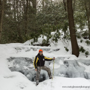 Visiting Yost Run Falls 3.7.2015