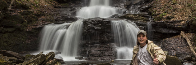 Visiting Ricketts Glen State Park 4.27.2015