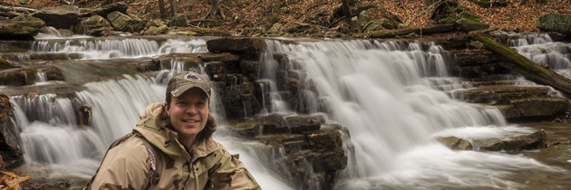 Waterfalling in the McIntyre Wild Area 4.20.2015