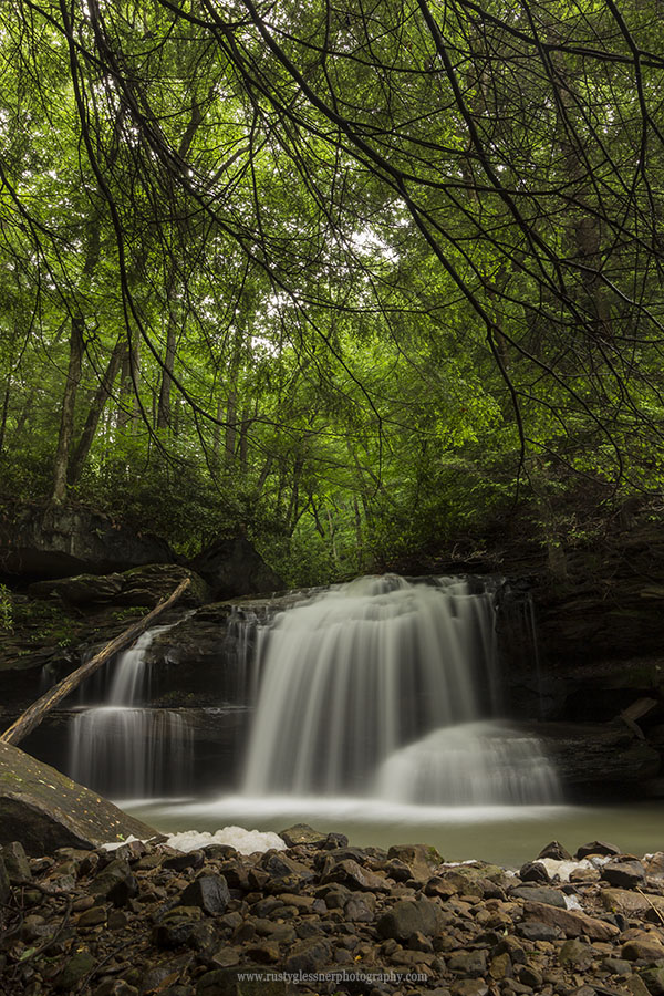 Lower Jonathan Run Falls, Ohiopyle State Park