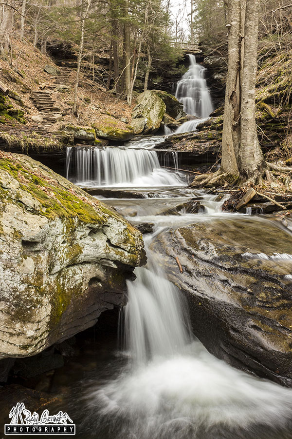 Ozone Falls, Ricketts Glen State Park, Sullivan County, PA