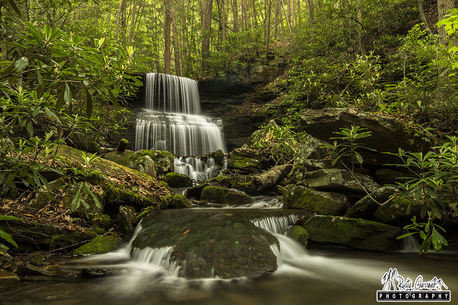 Round Island Run Falls, Clinton County, PA