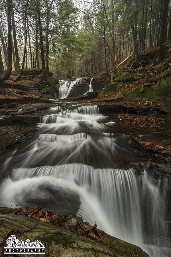 East Branch Falls, Sullivan County, PA