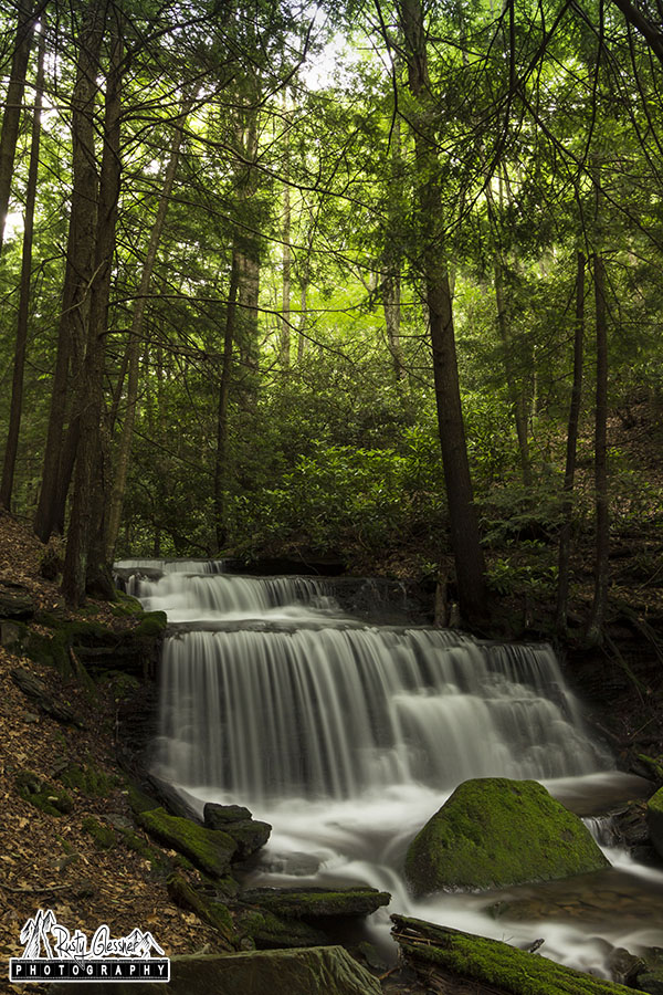 Yost Run Falls, Sproul State Forest, Centre County, PA