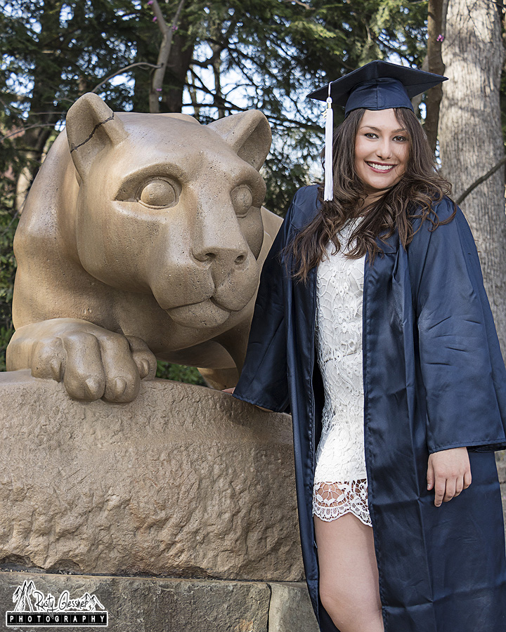 Penn State Graduation photo by Rusty Glessner