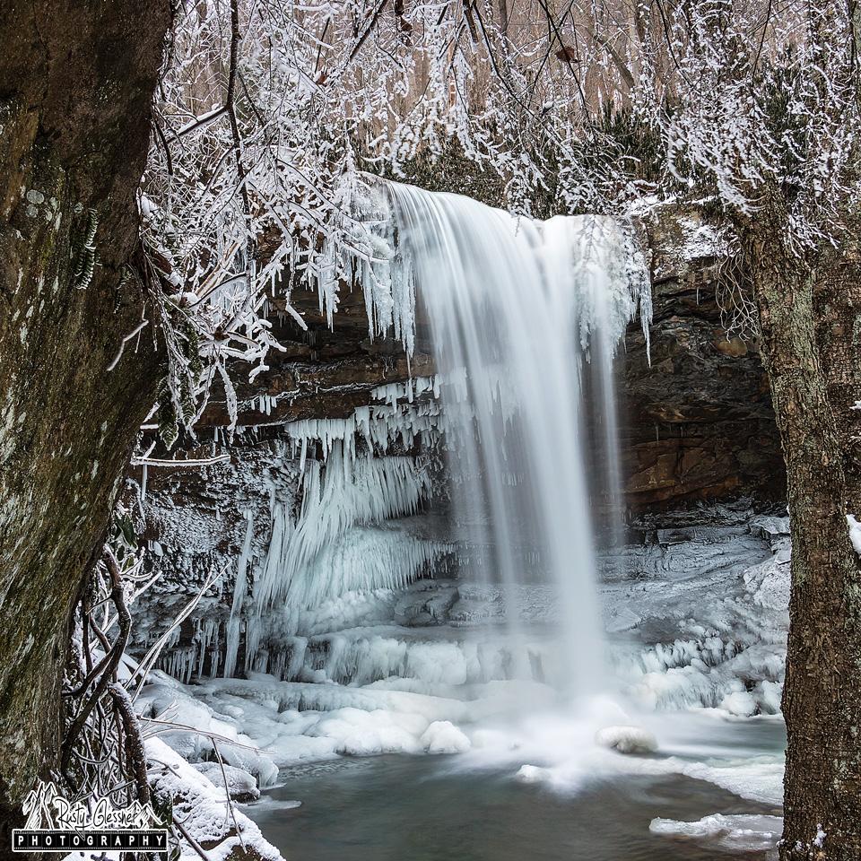 Cucumber Falls, Ohiopyle State Park - 1.7.2017