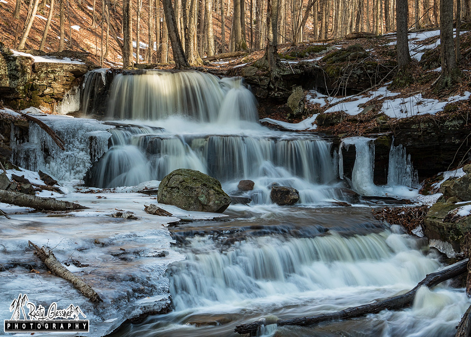 Dutters Run Falls #3, Loyalsock State Forest, 1.13.2017