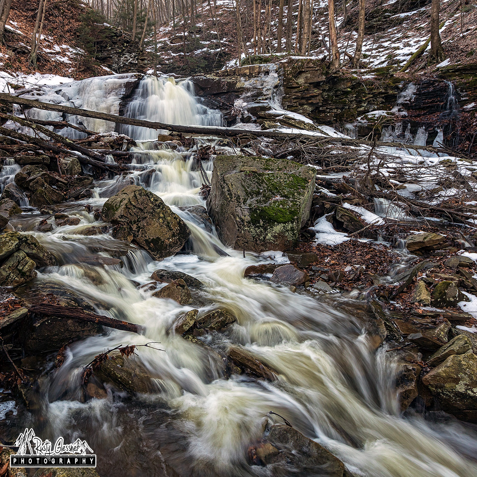 Dutters Run Falls #1, Loyalsock State Forest, 1.13.2017