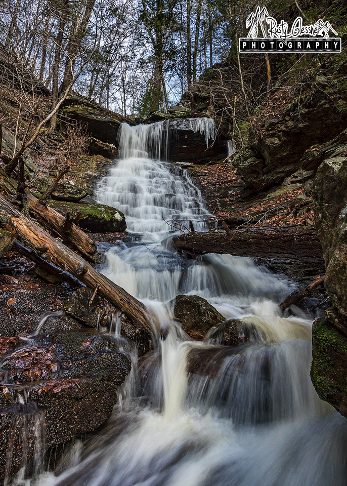 High Rock Falls, Worlds End State Park - 1.4.2017