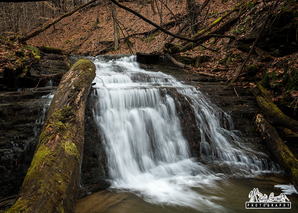 Miller Run Falls at Oil Creek State Park, Venango County, PA.