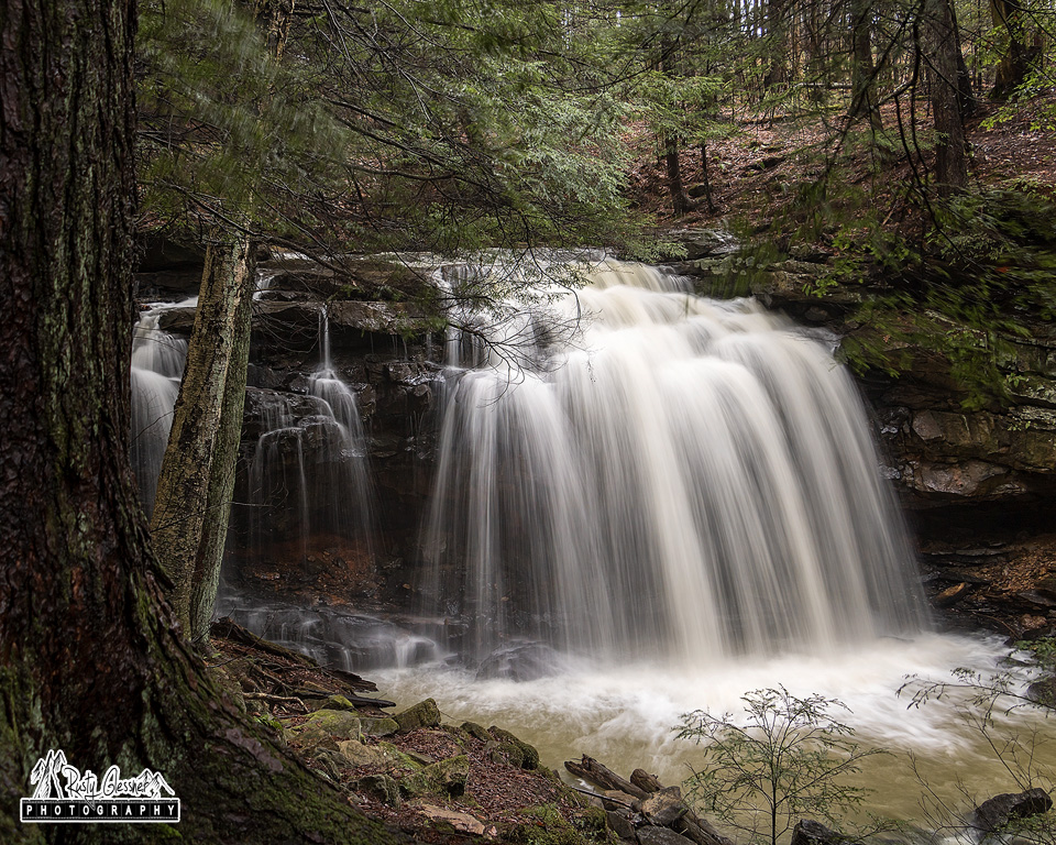 Potter Falls in Venango County, PA.