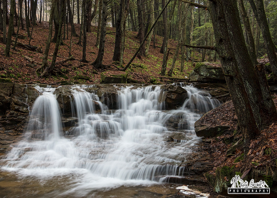 Rapp Run Falls in Clarion County, PA.