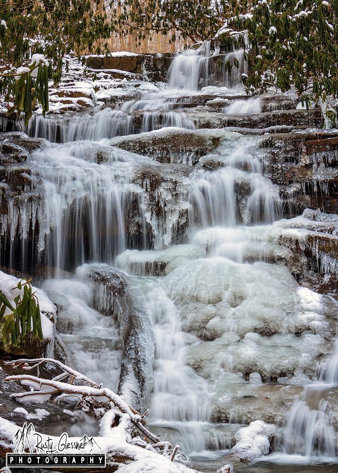 Sugar Run Falls, Ohiopyle State Park - 1.7.2017