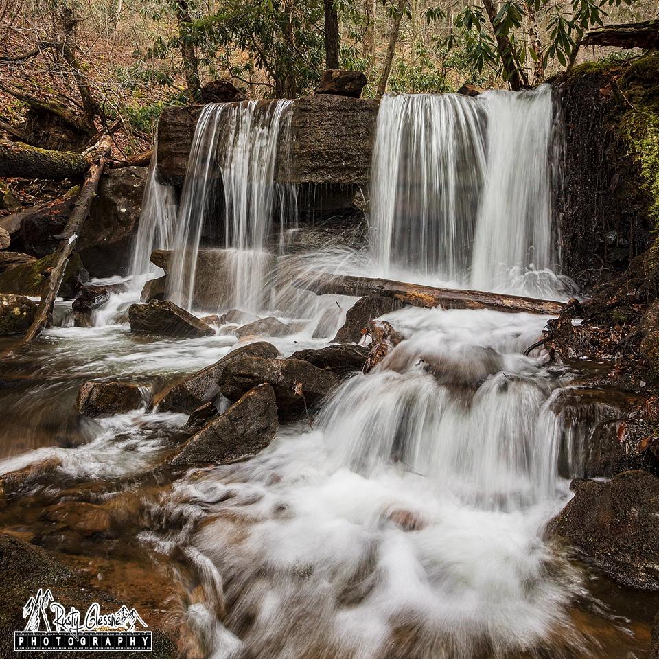 Table Falls along Paige Run, Quehanna Wild Area, Elk County, PA.