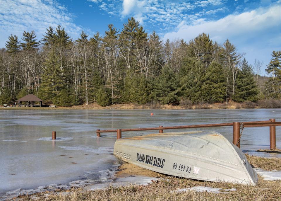 Whipple Dam State Park - 1.1.2017