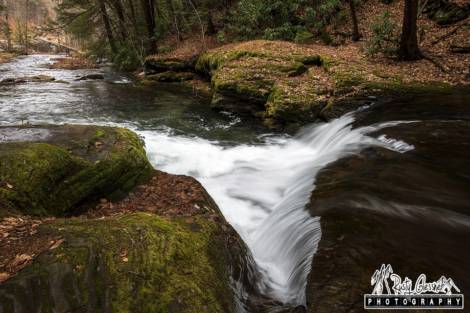 Wykoff Run Falls, Quehanna Wild Area, Cameron County, PA.