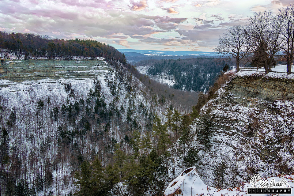 The Archery Fields Overlook - Letchworth State Park, Castile, NY