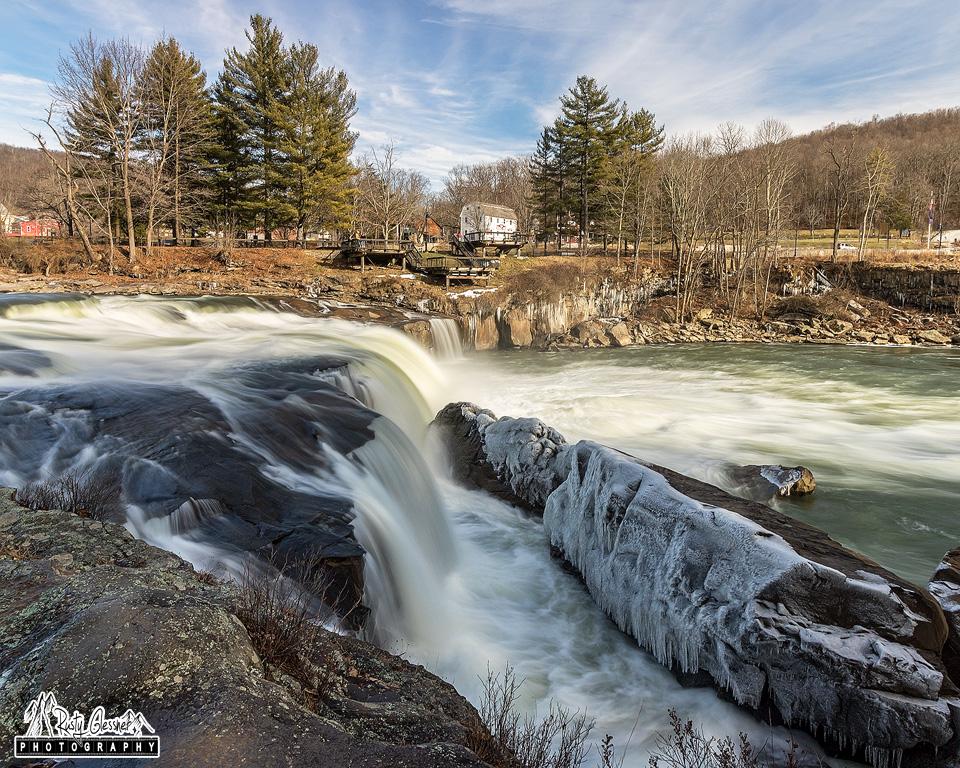 Ohiopyle Falls, Ohiopyle State Park - February 2017
