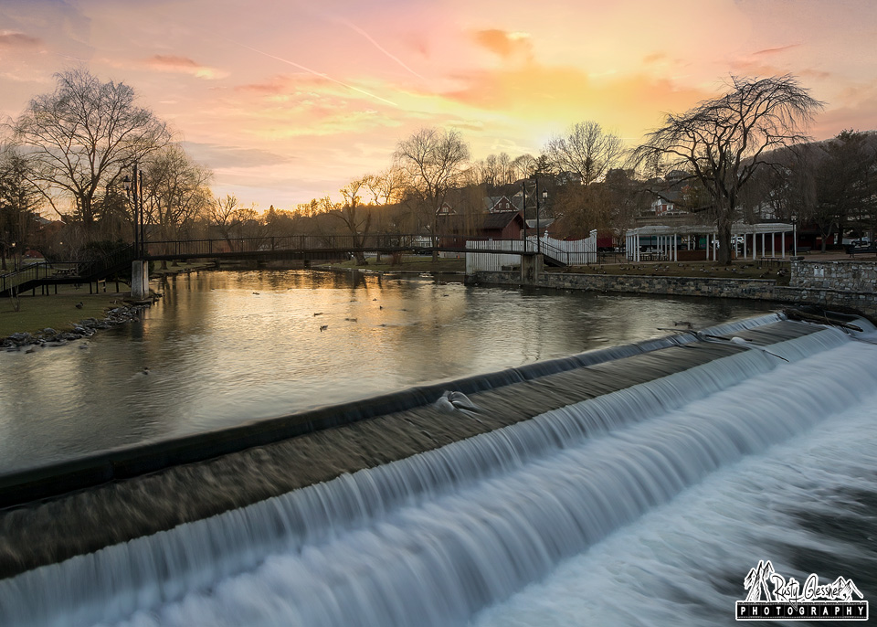 Sunset at Talleyrand Park, Bellefonte, PA - 2.17.2017
