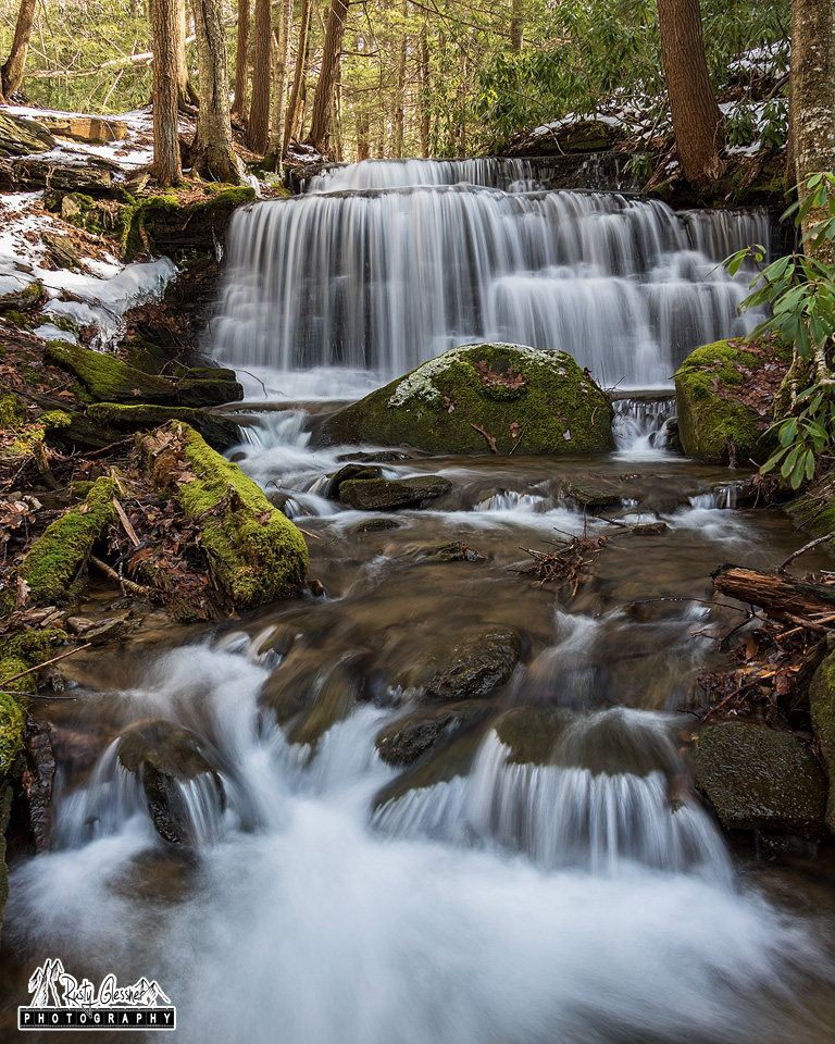Yost Run Falls, Sproul State Forest, Centre County, PA - 2.18.2017