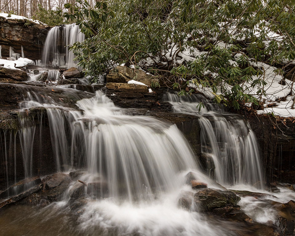 Cole Run Falls, Forbes State Forest, Somerset County, PA - 3.20.2017