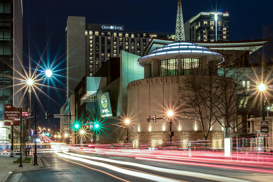 The Country Music Hall of Fame (long exposure) - Nashville, TN - March 2017